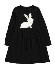Bunny Knit Skater Dress Bunny Art, Bunny Toys, My Childhood, Skater Dress, Girl Outfits, Knitting, Sweatshirts, Sweaters, Easter