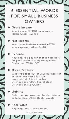 6 Essential Words to Understanding Your Business Finances - Gross Income, Net Income, Small Business, Finance, Accounting. Small Business Bookkeeping, Small Business Plan, Small Business Marketing, Small Business Accounting, Accounting Online, Starting A Business, Accounting And Finance, Internet Marketing, One Page Business Plan