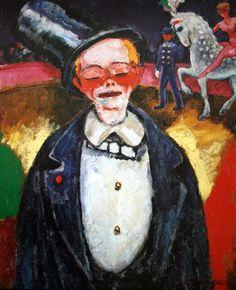 The clown 1906 Kees van Dongen