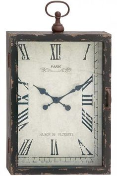 Gunner Metal Wall Clock - Analog Clock - Large Wall Clocks - Oversized Wall Clocks | HomeDecorators.com