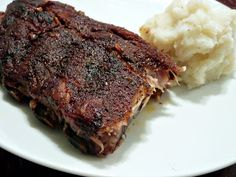 The BEST Dry-Rub for Baby Back Ribs, plus slow cooking in the crockpot