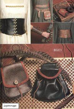 Fai da te cucito Pattern-cartamodelli 5371-corsetto, polso bracer, custodia, Ren Faire Pattern-Xlg-XXxl
