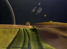 David Inshaw David Inshaw (born March is a British artist and painter, and was a founder member of the Brotherhood of Rurali. Badminton, Nocturne, Landscape Art, Landscape Paintings, Flower Paintings, Pop Art, Art Magique, Tate Gallery, Pierre Bonnard