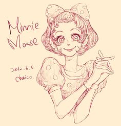 Minnie Mouse Japanese artist Chaico has created a series of anime-inspired sketches that reimagines Disney's animal characters—such as. Disney Fan Art, Disney Pixar, Disney Animation, Disney And Dreamworks, Disney Love, Disney Magic, Disney Stuff, Disney Characters As Humans, Cartoon Characters