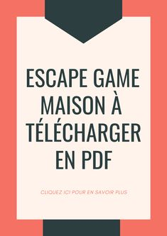 Rien de plus simple pour s'amuser en famille ! #escapekit #escapegame #kits #diy #famille #jeu #fun #mission #suspence #amusant #soirée #aprèsmidi #printable #printandplay #enfant #kids #parents #game #play #party #fete #escaperoom #j2s #escape #diy Animation Soiree, Activities For Kids, Crafts For Kids, Kit S, Ninjago Party, Geocaching, Escape Room, News Games, Best Part Of Me