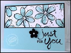 SUPER FLASH CARDS Garden in Bloom - Create (8) Fabulous cards with only 6 sheets of cardstock!  Check it out at www.SimplySimpleStamping.com - July 20, 2015 post