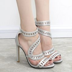 SHARE & Get it FREE | Laser Cut High Heel SandalsFor Fashion Lovers only:80,000+ Items • New Arrivals Daily • Affordable Casual to Chic for Every Occasion Join Sammydress: Get YOUR $50 NOW!