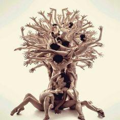 Árbol humano