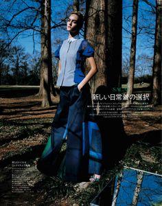 cool Elle Japão | Editorial de Moda Maio 2013 | Theres Alexandersson por Yasutomo Ebisu