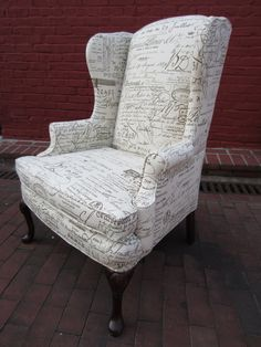 Accent Chair  French Press by Urbanmotifs on Etsy, $595.00