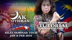 Prof Jak USA Silat Seminar Tour Jan - Feb 2016 & Tutorials - YouTube