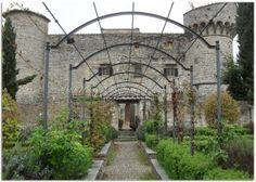 Castello di Meleto, giardino