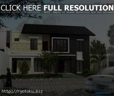 desain atap rumah minimalis 002