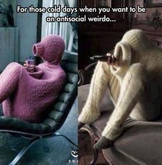 Full Body Sweater... HAHAHA