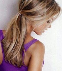 Afbeeldingsresultaat voor bruin haar met blond