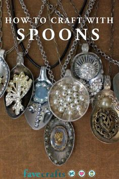 Jewelry Necklace Videos 18 Spoon Crafts: Wooden Spoon Crafts Plastic Metal and More Jewelry Necklace Videos 18 Spoon Crafts: Wooden Spoon Crafts Plastic Metal and Silver Spoon Jewelry, Fork Jewelry, Jewelry Art, Jewelry Design, Jewlery, Key Jewelry, Bullet Jewelry, Copper Jewelry, Luxury Jewelry