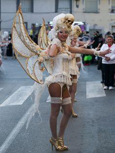 mariposa cadavérica, carnaval Cabezo de Torres,Murcia España Spain