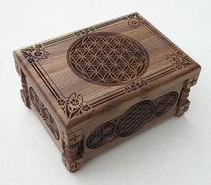 Flower of Life Small Jewelry Box Gift Box от BulgarMaster