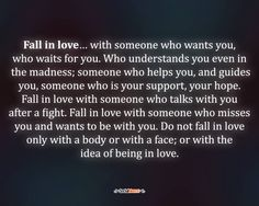 Fall in love with...