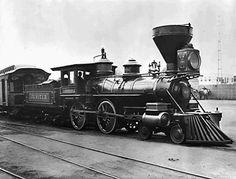 1869 Steam Locomotive