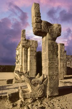 """One of the Seven Wonders of the World, Chichen Itza - meaning """"At the mouth of the well of the Itza"""" - is Mexico's most visited archeological site. Don't miss it on your trip to Cancun, Mexico!"""