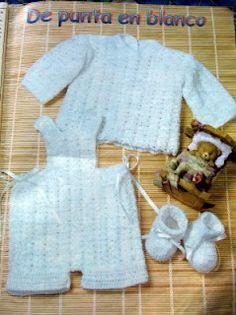 Crochet aneiro: Ropa de bebe