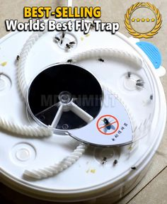 Best Fly Trap, Casas Trailer, Fly Traps, Home Gadgets, Electronics Gadgets, Take My Money, Cool Inventions, Useful Life Hacks, Cool Things To Buy