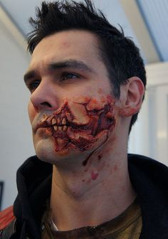 Walking Dead Style Prosthetic Application style