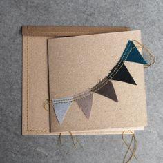 Nº 74 Handmade and vintage for kids Cartes bleues