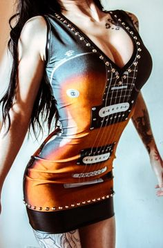 Toxic Vision Electric Guitar Dress