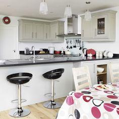 Küchen Küchenideen Küchengeräte Wohnideen Möbel Dekoration Decoration Living Idea Interiors home kitchen - Moderne Wohnküche
