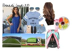 """Brandi // 4-29-17 // Avalyn's Soccer Game"" by dream-families ❤ liked on Polyvore featuring Levi's, NIKE, Ray-Ban, Kate Spade and TheClarkFamily"