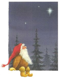 Gnome wishing upon a star...