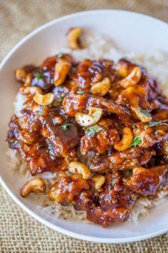 Cheesecake Factorys Spicy Cashew Chicken is spicy sweet  Mein Blog: Alles rund um Genuss & Geschmack  Kochen Backen Braten Vorspeisen Mains & Desserts!
