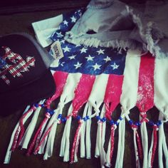 my outfit last year #countryUSA #handmade #DIY #merica