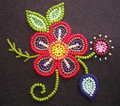 """Search result for """"art and craft ideas from waste material … - New Craft ideas Native Beading Patterns, Beadwork Designs, Native Beadwork, Native American Beadwork, Beaded Embroidery, Hand Embroidery, Bead Crafts, Arts And Crafts, Kids Crafts"""