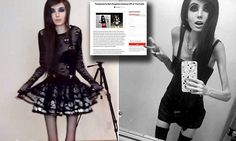 CONNECTICUT Petition calls for severely thin vlogger Eugenia Cooney to be banned from YouTube | Daily Mail Online