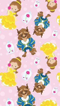 Find images and videos about cute, beauty and kawaii on We Heart It - the app to get lost in what you love. Disney Phone Wallpaper, Wallpaper Iphone Cute, Cute Wallpapers, Kawaii Disney, Disney Art, Tsum Tsum Wallpaper, Beauty And The Beast Wallpaper, Lilo Et Stitch, Disney Fabric