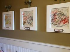 20 Interesting Ideas To Display Kids Artwork | Kidsomania