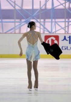 Yuna Kim figure skating the lark ascending