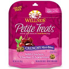 Wellness Petite Crunchy Mini-Bites Small Breed Dog Treats @ Petco petco.com