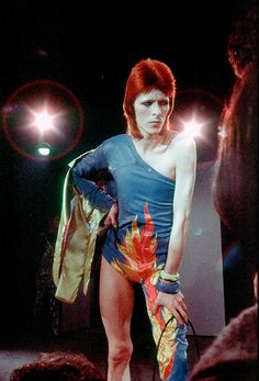 Ziggy Stardust's last stand: David Bowie's '1980 Floor Show' Midnight Special filmed at the Marquee in1973.. I never thought I'd get to see it again, thank you YouTube.
