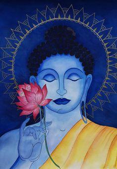 Madhubani Art, Funny Facts, Art Therapy, Krishna, Buddha, Disney Characters, Fictional Characters, Aurora Sleeping Beauty, Lord