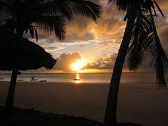 Sunrise Mombasa. Picture by Kolumbusjogger