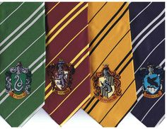Hogwarts Ties!   www.cinereplicas.com