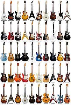 Zapista Guitar Legends Art Print Rock Music Guitarist Poster Musician Gifts Home Decor Unframed x Buy Guitar, Guitar Body, Guitar Art, Guitar Chords, Music Guitar, Cool Guitar, Guitar Chord Chart, Playing Guitar, Guitar Tips