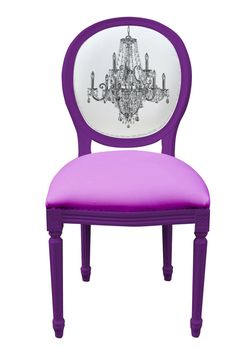 Would go great in my newly remodeled dining room turned project room....I love this dang chair!!