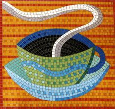 coffee mosaic Emma Biggs