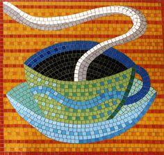 coffee mosaic Emma Biggs