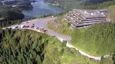 Antigo Monte Palace à venda por 380 mil euros (o edifício do primeiro hotel de cinco estrelas nos Açores)